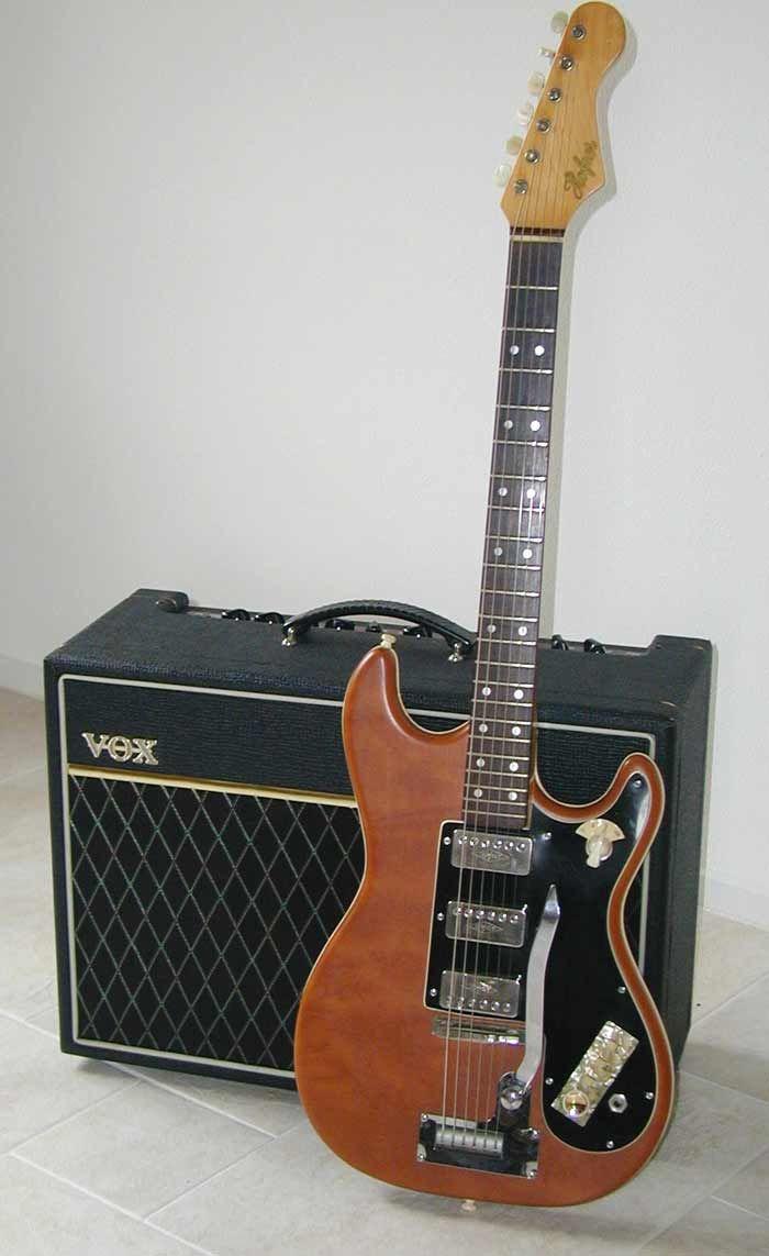 Hofner Solidbody Guitar.