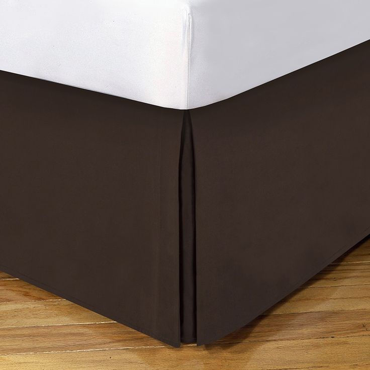 Lux Hotel 14-inch Drop Bedskirt King Size in