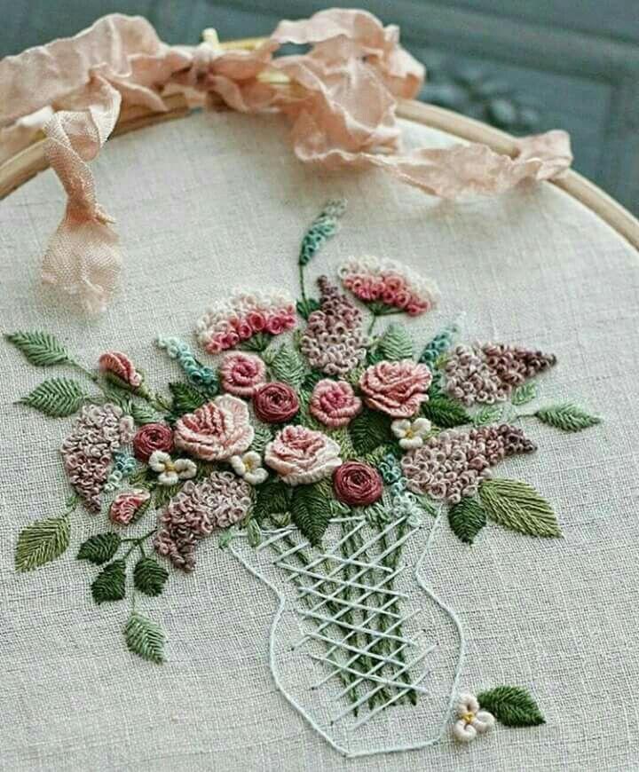Beautiful vase of flowers