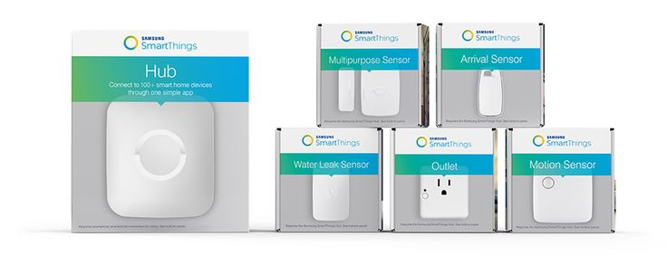 This is the growing list of compatible devices with the SmartThings Hub