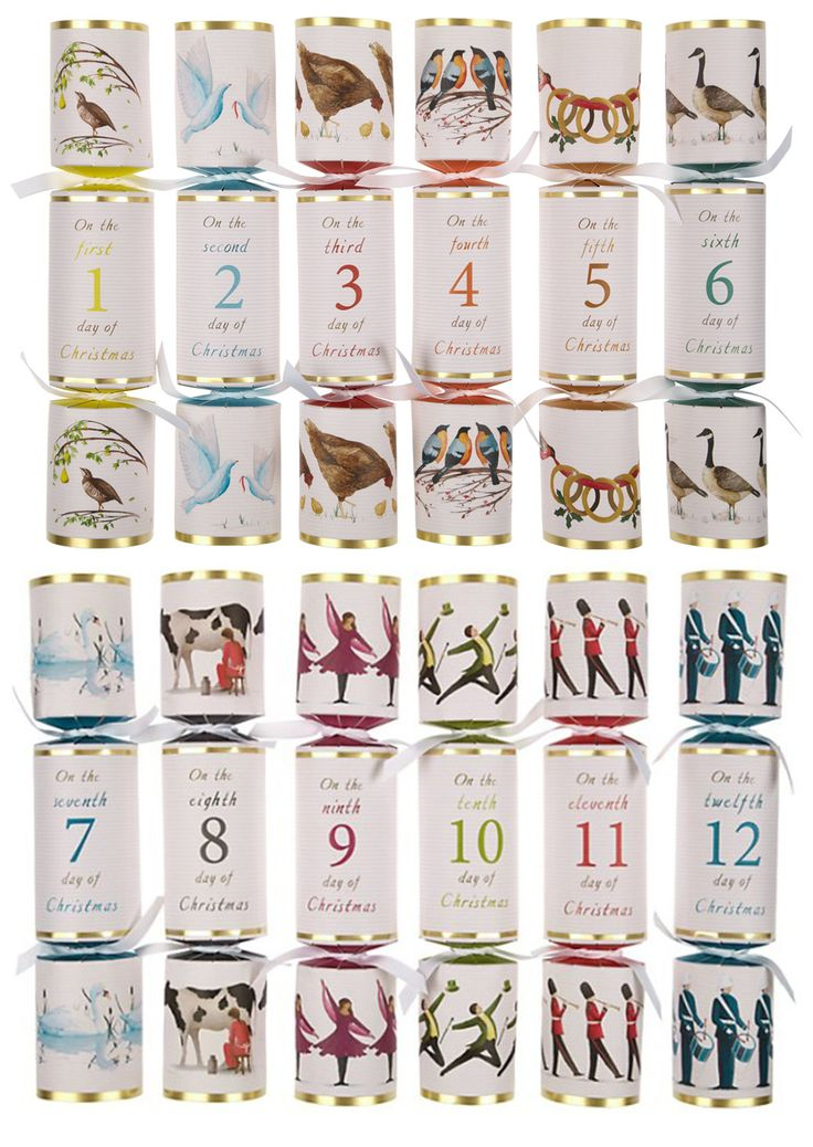 7 best go crackers for christmas crackers images on pinterest 12 days of christmas crackers by john lewis solutioingenieria Gallery