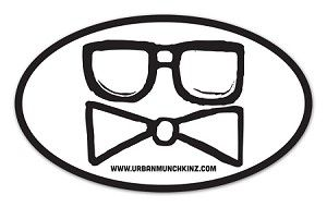 Just printed these 3x5 Custom Oval Stickers for children's clothing company Urban Munchkinz