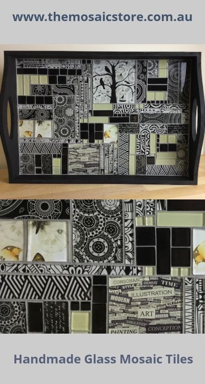 These tiles are made exclusively for The Mosaic Store and are absolutely stunning when used to create a mosaic.  www.themosaicstore.com.au