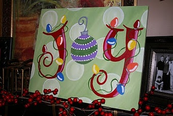 Joy painting - super cute!!