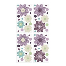 Ooh, I think these will match the pottery barn kids Brooklyn pattern PERFECTLY! Plum Dandy Wall Decals by NOJO®