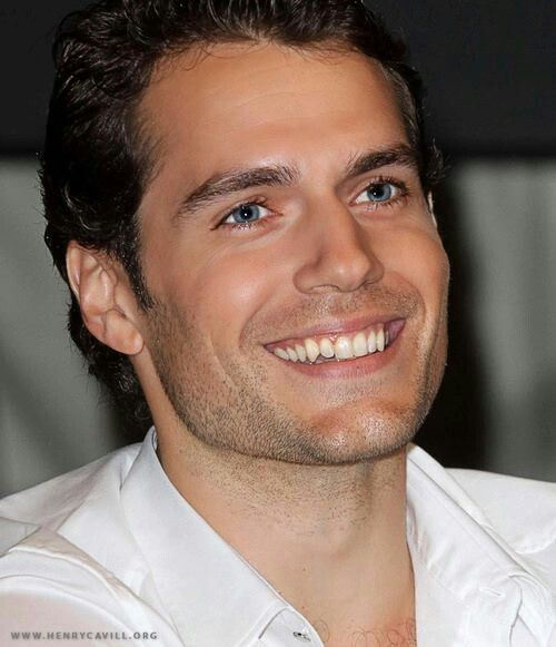 Henry Cavill...Love the way he smiles :D