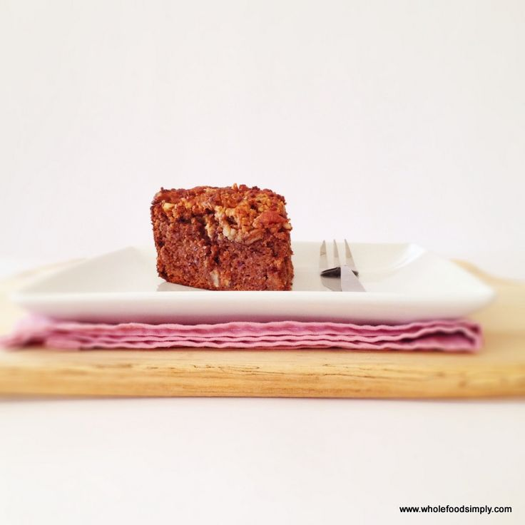 Coffee and Pecan Cake - Wholefood Simply