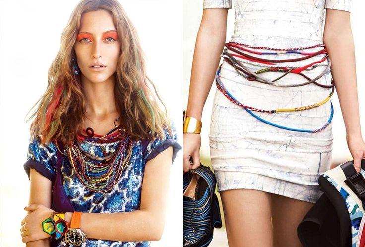 """Friendship """"bracelets"""" DIY: Crafts Ideas, Diy Necklaces, Diy Fashion, Color, Diy Friendship, Bracelets Belts, Diy Beltsnecklac, Friendship Necklaces, Friendship Bracelets"""