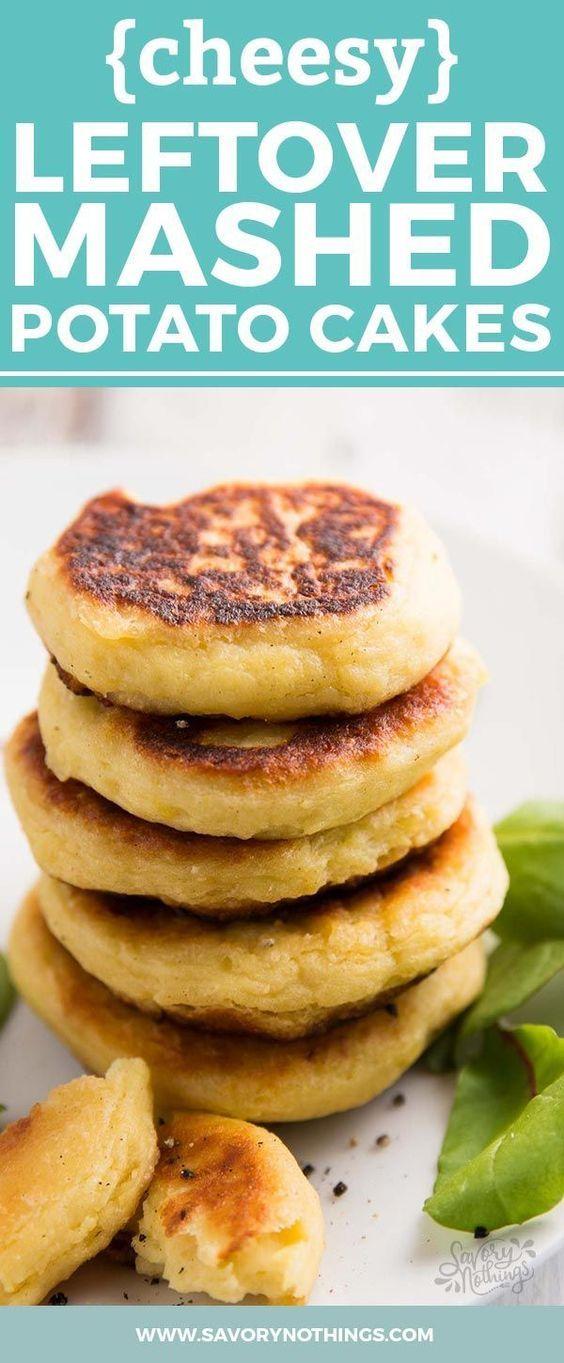 Leftover Mashed Potato Cakes | Recipe