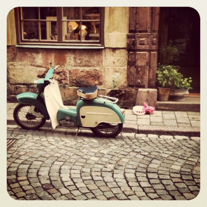 Scooter in Stockholm