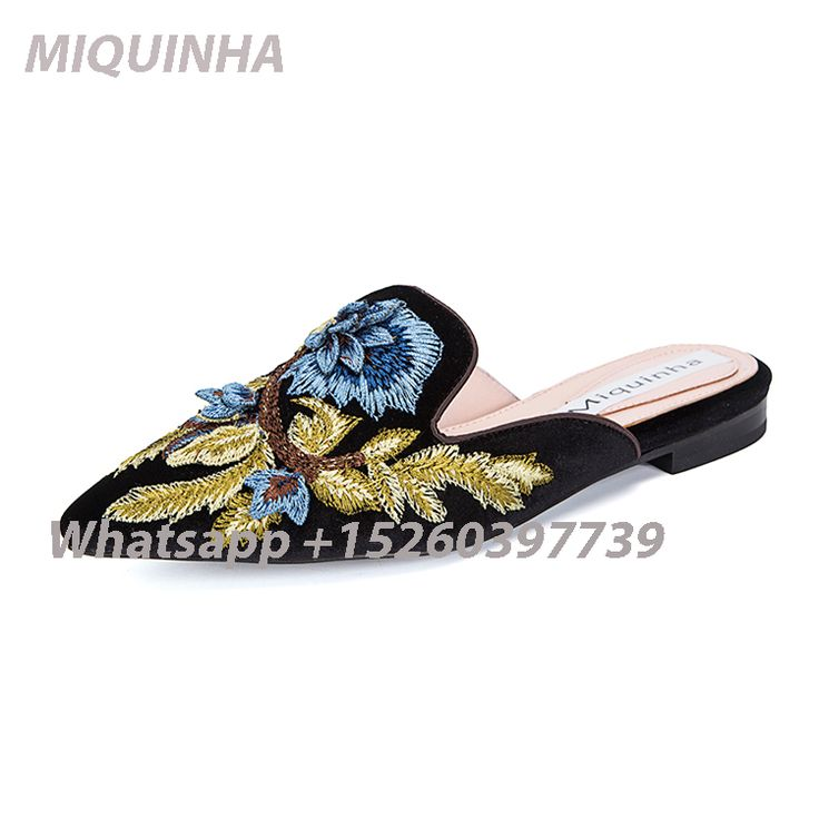 Cheap slip on casual shoes, Buy Quality slip on directly from China fashion  flats Suppliers: Newest Hot Fashion Mixed Colors Embroider Flats Slingbacks  ...