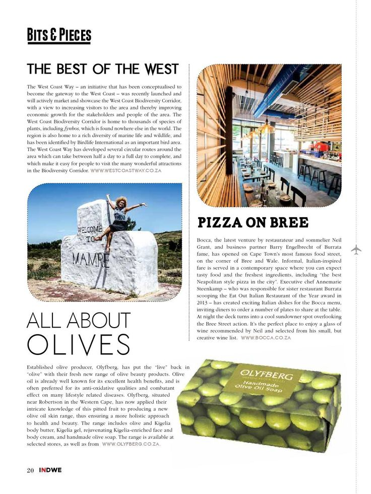 #ClippedOnIssuu from Indwe January 2015 - Bits and Pieces