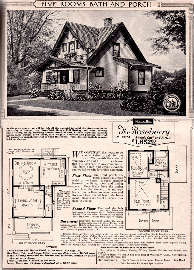 Sears Craftsman Bungalow House Plans