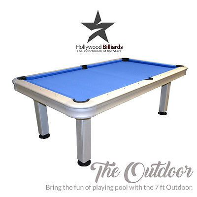 Imperial Outdoor 7 Ft Pool Table   Brand New   Billiard Accessories Included