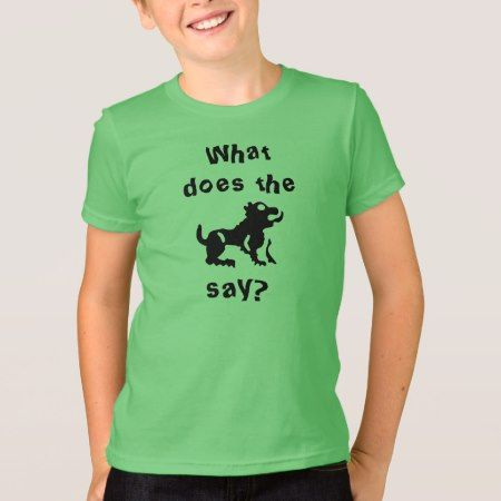 What do the beast say? T-Shirt - tap to personalize and get yours