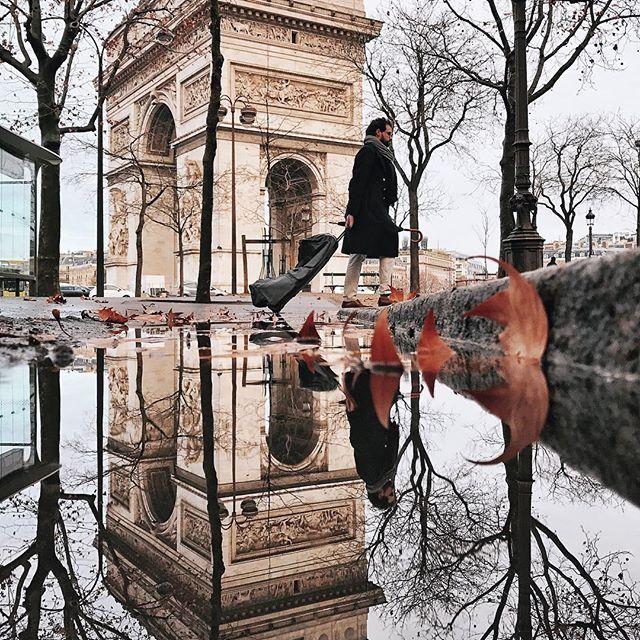 Reflecting Paris  #Paris