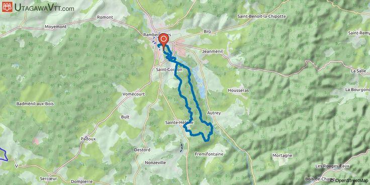 """[Vosges] La Rambuvetaise 2017 - 20 km Randonnée VTT organisée par le club """"Les Cyclos de Rambervillers"""".  80 à 90% du parcours se fait sur des petits sentiers sans grandes difficultés. Le parcours est très roulant, c'est une bonne rando pour un début de saison."""