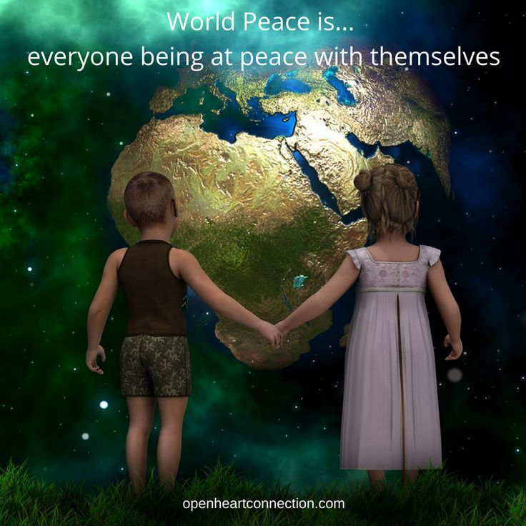 World peace is .........