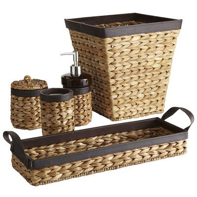 i found this great sale natural woven bath accessories at pier 1 imports in palm springs via