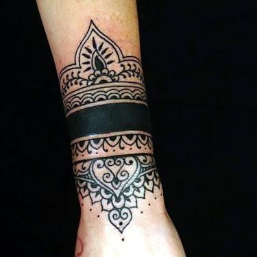25 best ideas about wrist band tattoo on pinterest. Black Bedroom Furniture Sets. Home Design Ideas