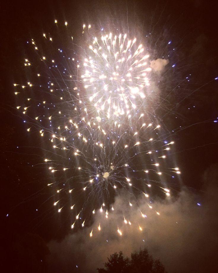 Flower Show Fireworks 2016, Shrewsbury