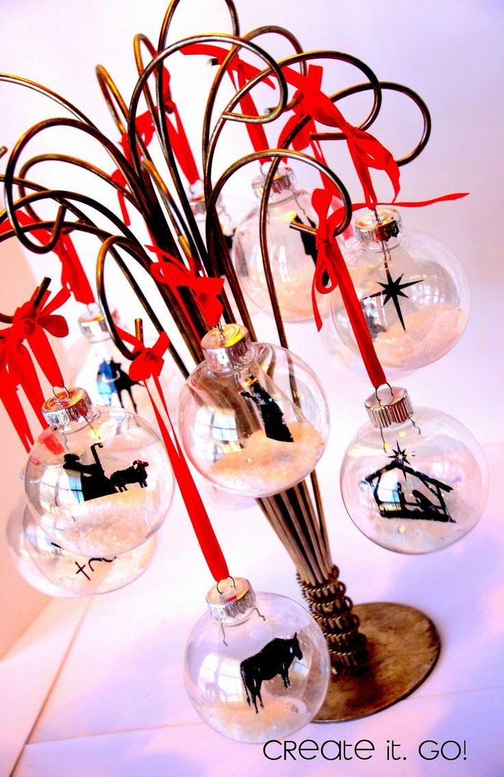 12 Days of Christmas Nativity Ornament Set Re-Do