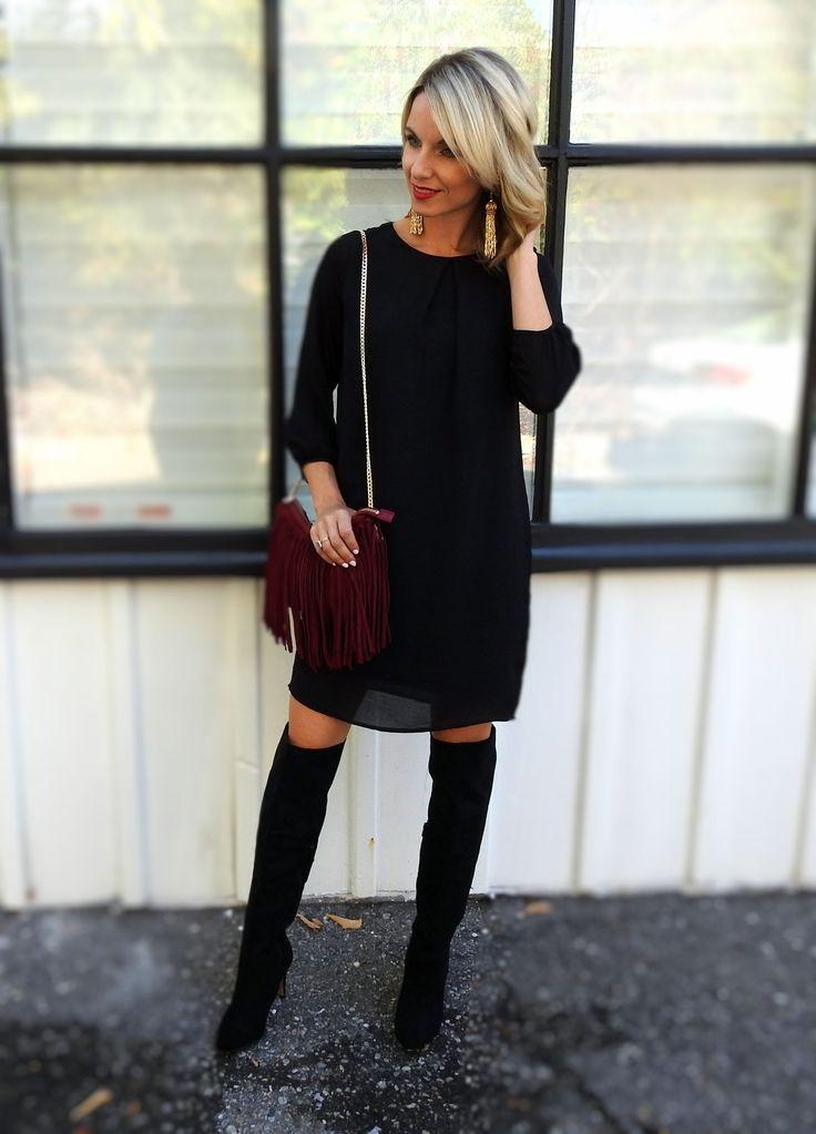 Fall/Winter Little black dress style