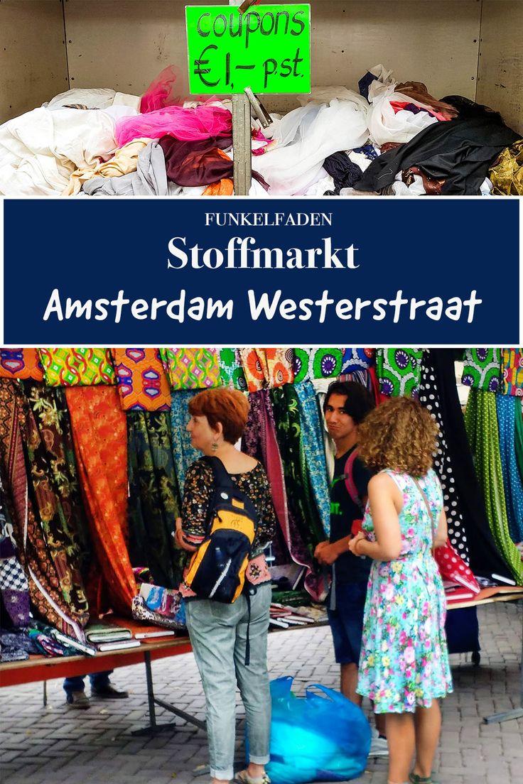 Stoffmarkt in Amsterdam – Stoffe kaufen in Amsterdam