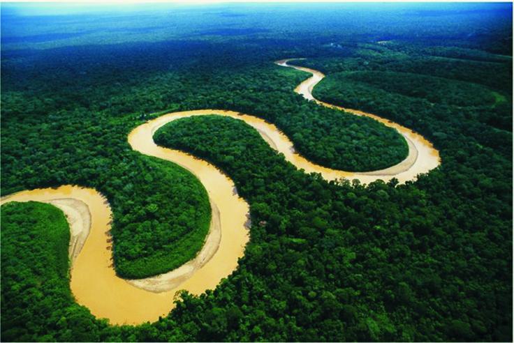 1.- Río Amazonas, 7.020 kilómetros. Brasil, Bolivia, Colombia, Peru
