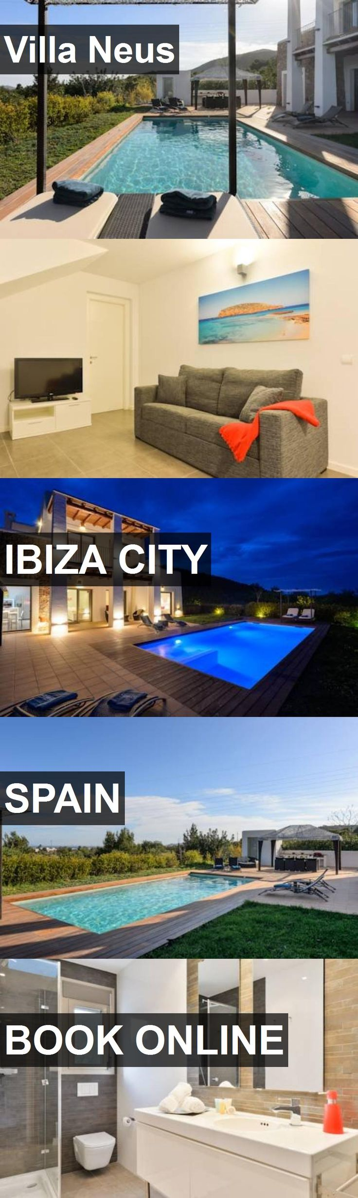Hotel Villa Neus in Ibiza City, Spain. For more information, photos, reviews and best prices please follow the link. #Spain #IbizaCity #travel #vacation #hotel