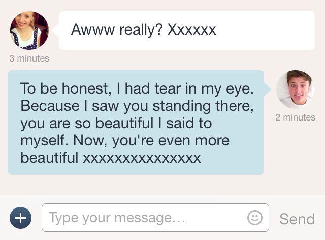Aww❤️ #cute #texts #boyfriend