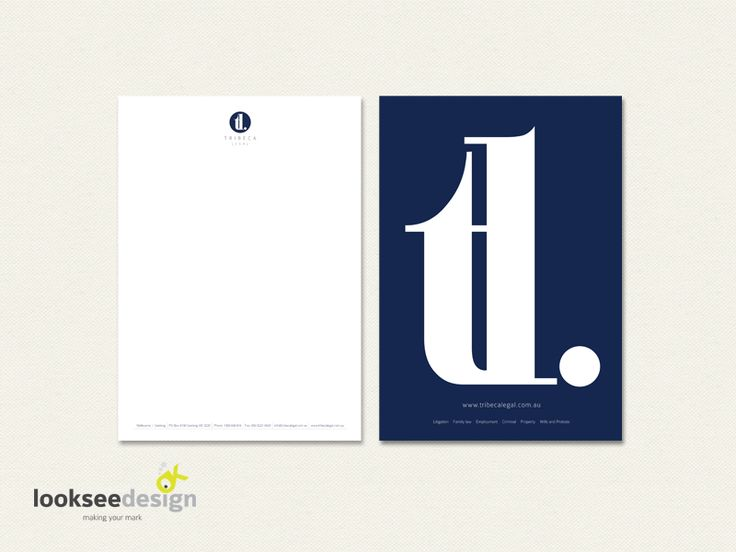 Stationery Design for Legal Firm - Designed by Looksee Design