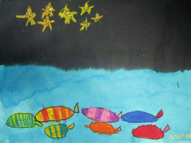 "Last week was the start of Matariki , the Maori New Year.  We read a Maori legend called ""The Star Fishes"" which is just one of the many leg..."