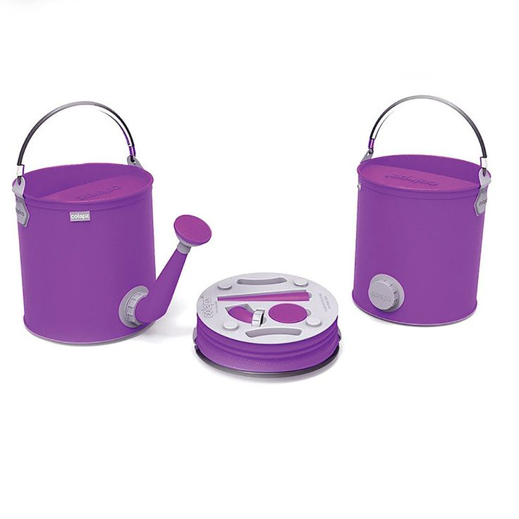 top3 by design - Colapz - colapz bucket watering can purple