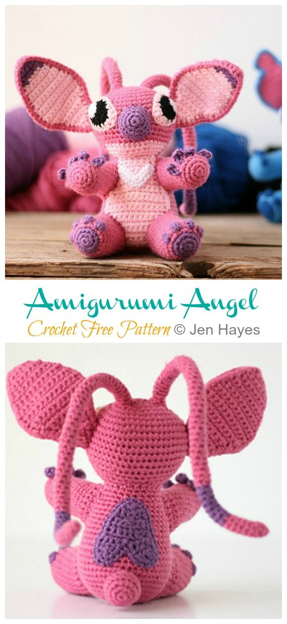 Angel Amigurumi | Crochet angel pattern, Crochet xmas, Christmas ... | 1240x570