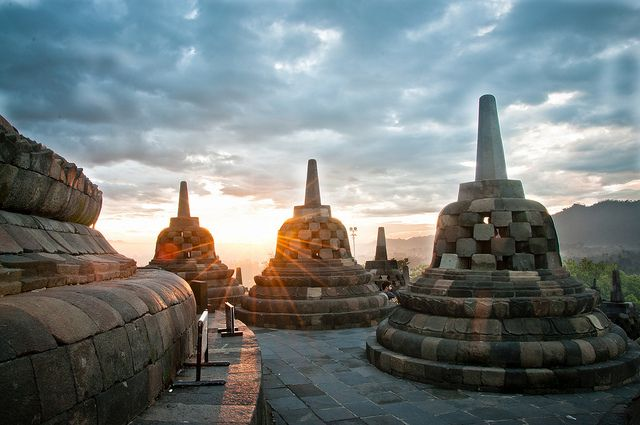 Borobudur Sunrise | Flickr - Photo Sharing!