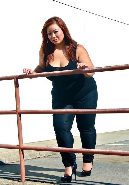 bbw asian models