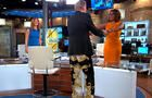Charlie Rose wears Cam Newton-style Versace pants on air - Videos - CBS News