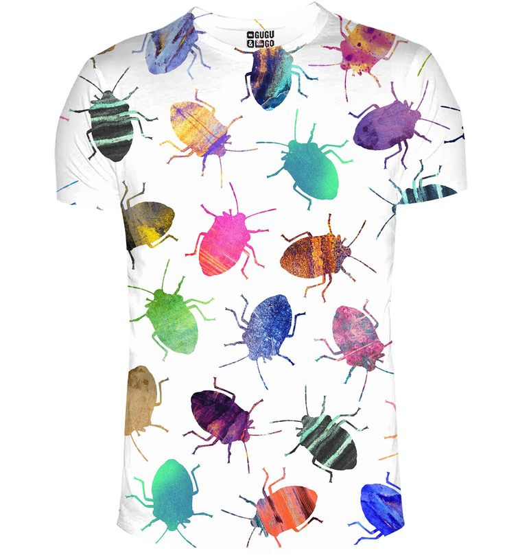 Colofrul Cockroaches t-shirt, Mr. GUGU & Miss GO