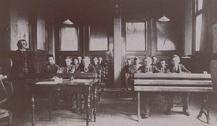 school gistfabriek delft 1888