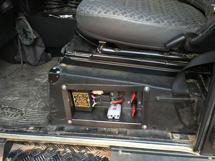 LandRover Defender Battery management