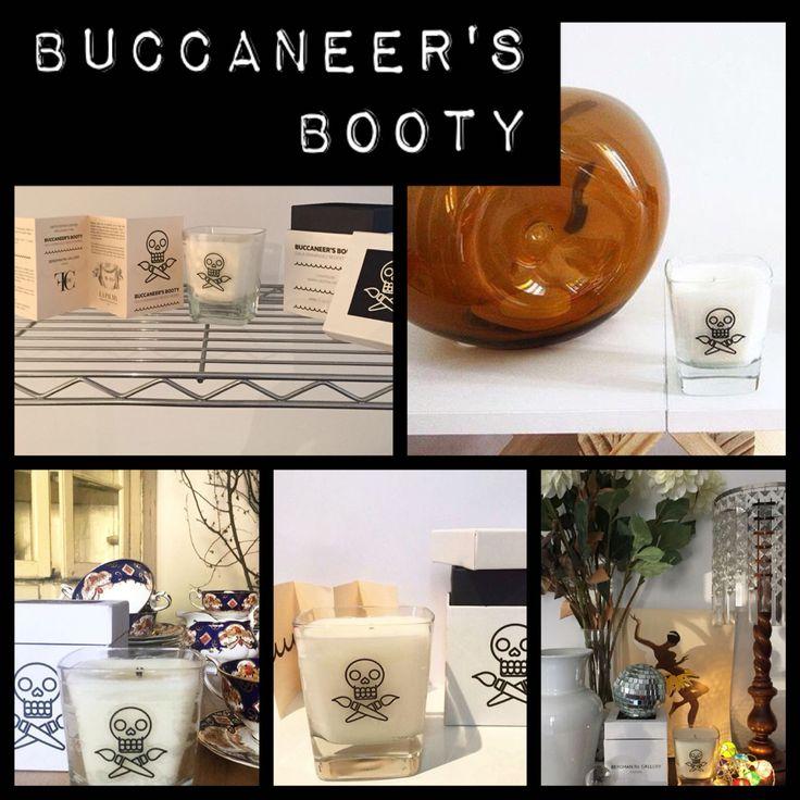 La vela Buccaneer's Booty creada en serie numerada y exclusiva para Gala Fernández según mayiceworks - atelierd - videgreniers - halyrebo