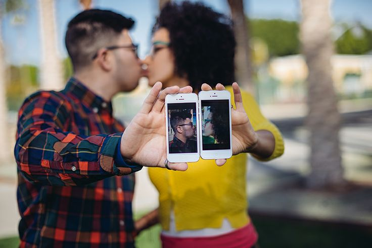 Engagement shooting in Los Angeles - California