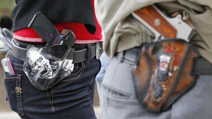 Etats Unis: le Texas autorise le port d'armes visibles
