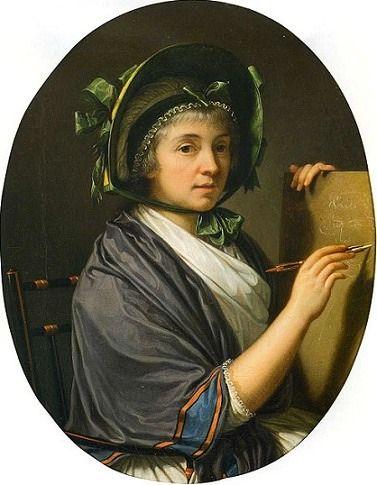 1796 Louise zu Stolberg-Gedern by François Xavier Fabre