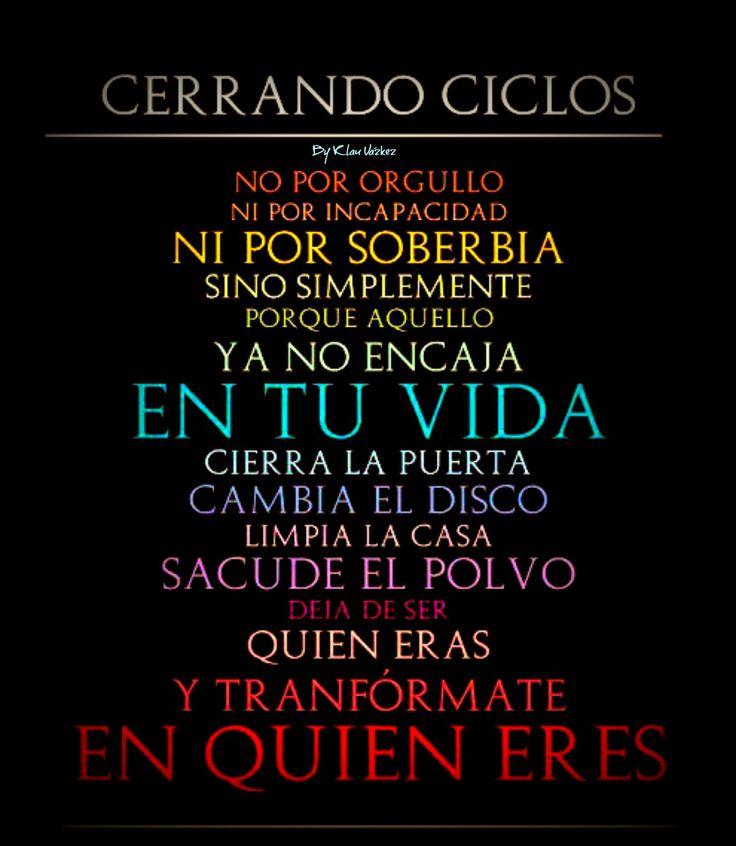 Ciclos ...
