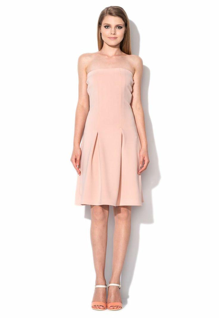 Rochie eleganta roz pal!