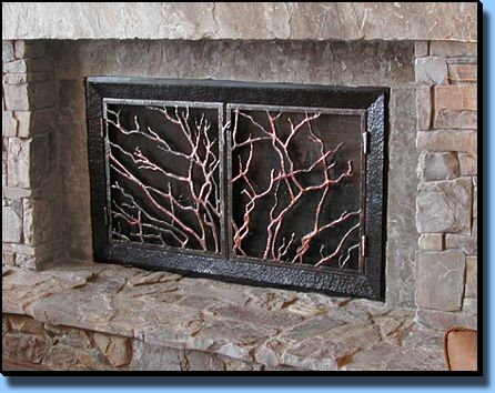 screen screens fireplace near me ir decorative and doors