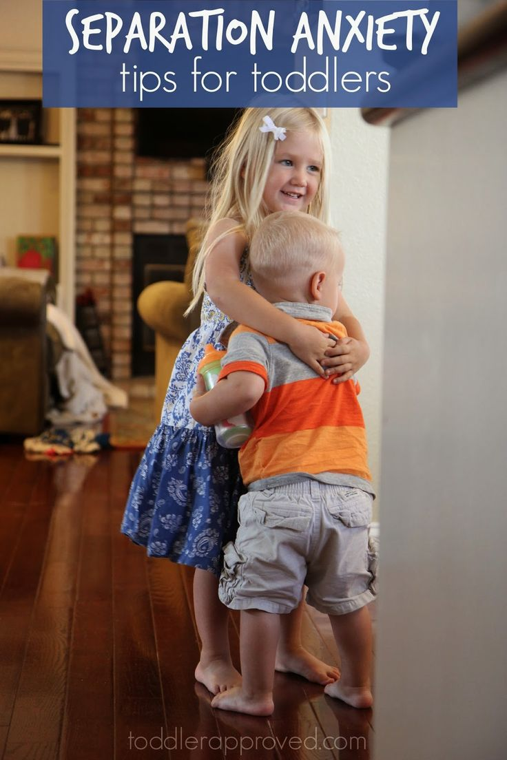 Toddler Approved!: Separation Anxiety Tips for Toddlers