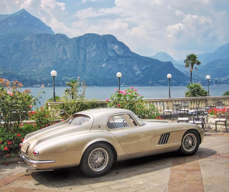 Ingrid Bergman's Ferrari. 😍🇮🇹 Yes, this stunning classic car belonged to the magnificent Swedish actress who is most famous for her…